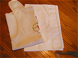 Vintage Child's Apron and Pillowcase (Image1)
