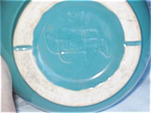 Cp Usa Aqua Pottery Vase