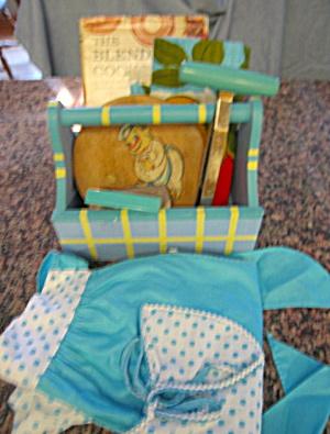 Aqua Vintage Kitchen Collectibles (Image1)