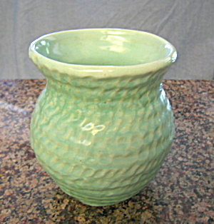 Vintage Aqua Vase (Image1)
