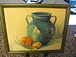 Signed Vintage Watercolor