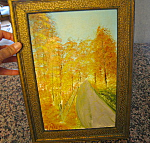 Vintage Oil Painting W. Reed