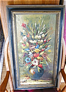 Signed Oil Painting - Paline
