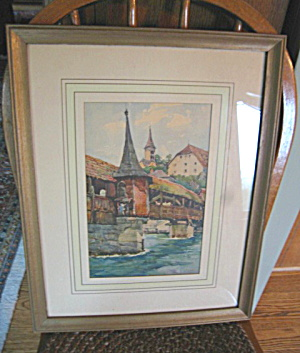 Framed Art Vintage