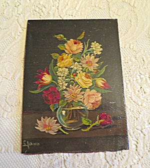 Varnished Vintage Oil Painting