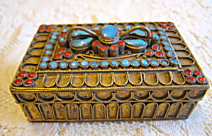 Vintage Brass Box