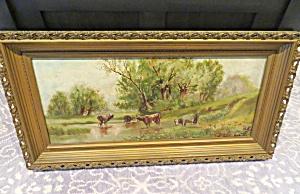 Pastoral Vintage Oil Painting (Image1)