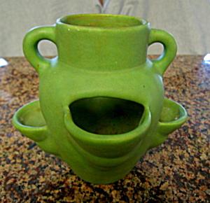 Monmouth Antique Matte Green Herb Jar (Image1)