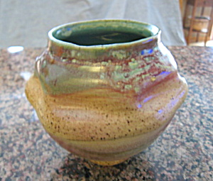 N. Ray Art Pottery Vase