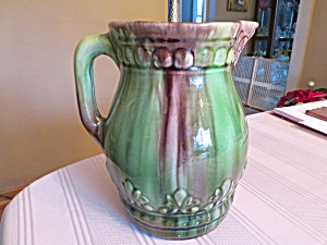 Antique Blended Glaze Pitcher