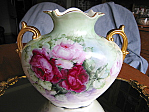 Antique Austrian Rose Vase