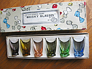Whiskey Shot Glasses Vintage