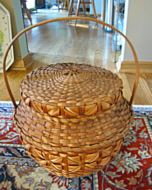Huge Vintage Basket