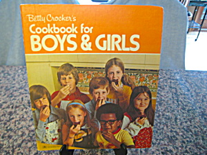 Vintage Boys & Girls Cookook