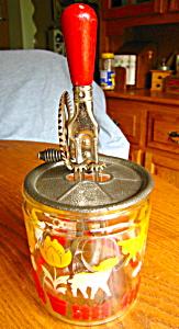 Vintage A & J Eggbeater and Jar (Image1)