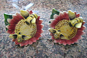 Vintage Bumble Bee Shakers