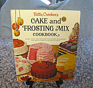 First Edition Betty Crocker Cake Frosting Book