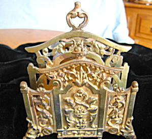 Antique Bradley & Hubbard Letter Holder