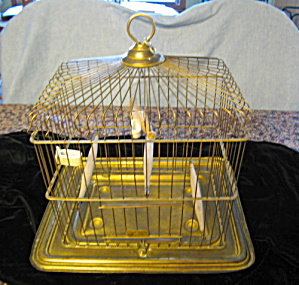 Antique Osborn Bird Cage