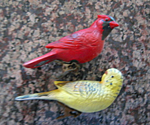 Vintage Bird Cage Ornaments