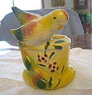 American Bisque Parakeet Planter (Image1)