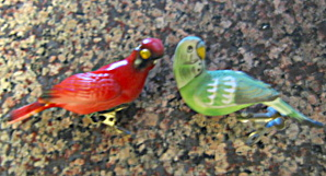 Vintage Ceramic Bird Cage Ornaments