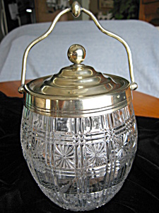 Registered English Antique Biscuit Jar (Image1)