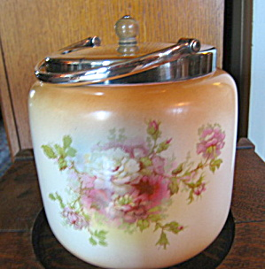 Antique Fielding English Biscuit Jar (Image1)