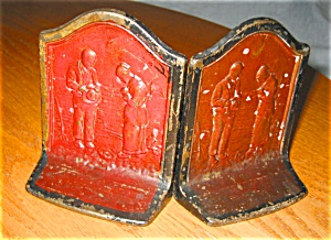 Antique Bookends - Call To Prayer