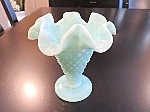 Blue Hobnail Vintage Milk Glass (Image1)