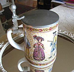 Vintage Porcelain German Beer Stein (Image1)