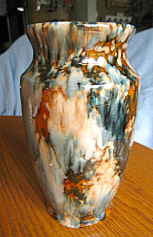 Antique Brush Onyx Vase