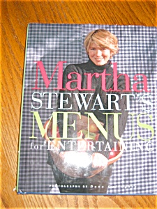 Collectible Martha Stewart Cookbook
