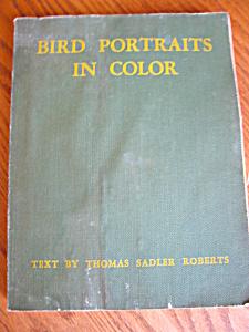 Vintage Bird Portrait Book (Image1)