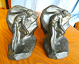 Art Deco Bookends - Struggle