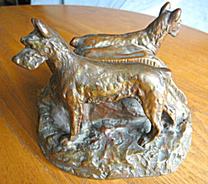 Man's Best Friend Rare Antique Bookends