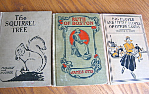 Three Antique Children's Books