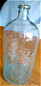 Vintage Silver Springs Water Bottle