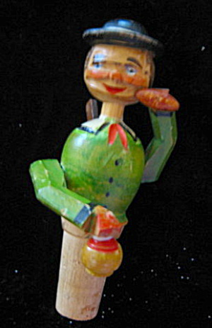 Vintage Moveable Bottle Stopper