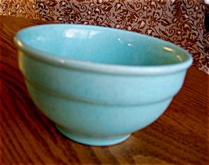 Vintage Aqua Mixing Bowl (Image1)