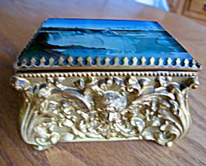 Victorian Niagara Falls Trinket Box (Image1)