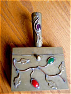 Oriental Vintage Brass Box (Image1)