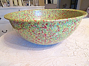 Brookpark Large Spatterware Bowl