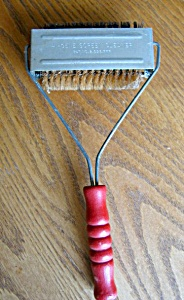 Vintage Patented Screen Cleaner Brush (Image1)