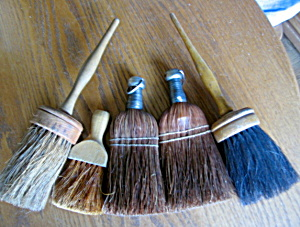 Vintage Brush & Broom Assortment