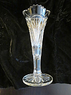 Antique Glass Bud Vase