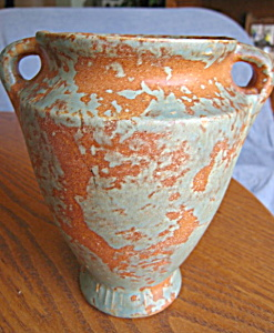 Burley Winter Art Pottery Vase