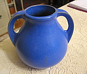 Burley Winter Blue Art Pottery  (Image1)