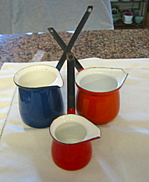 Graniteware Vintage Buttermelt Trio (Image1)