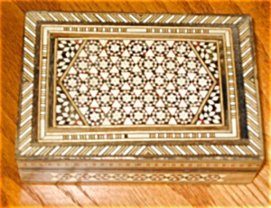 Wood Inlay Card Box (Image1)